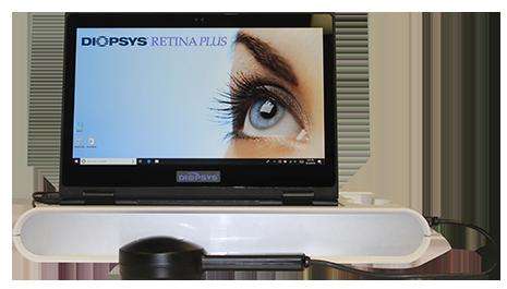 Diopsys Retina Plus Vision Testing Device
