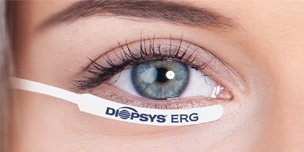 Patented Diopsys ERG Electrode