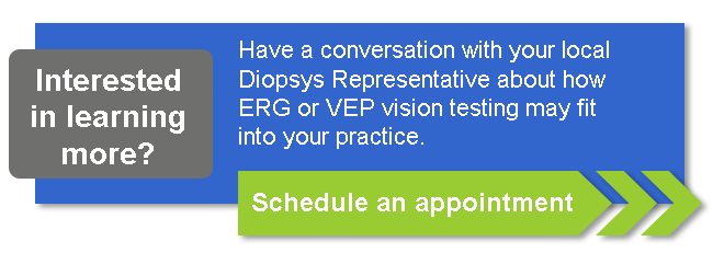 Do you have questions about your Diopsys VEP or ERG vision testing or device